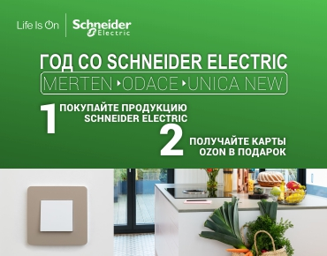 Год со Schneider Electric!